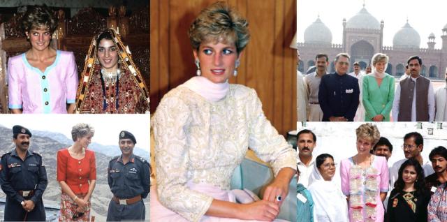 Princess of Wales in Pakistan, 1991