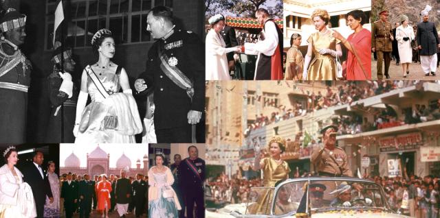 Queen trip to pakistan in 1961