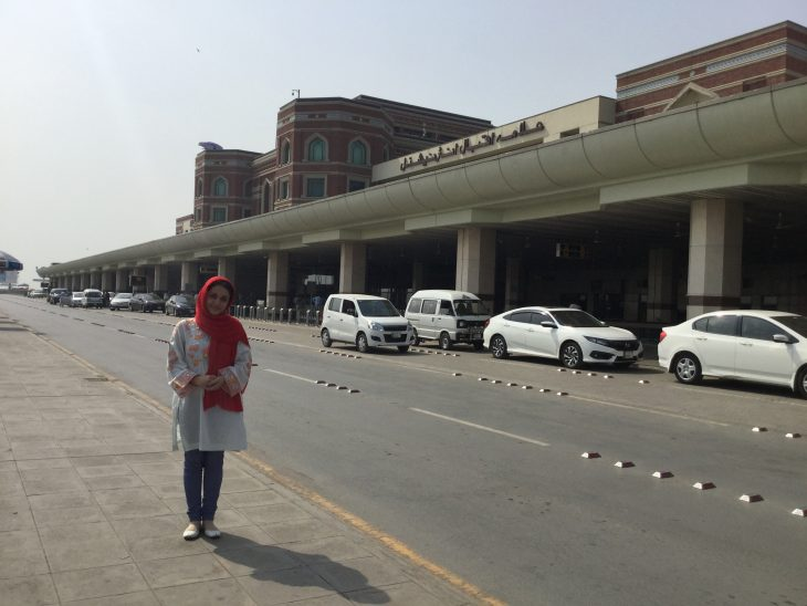 Monireh Bahrami in Pakistan