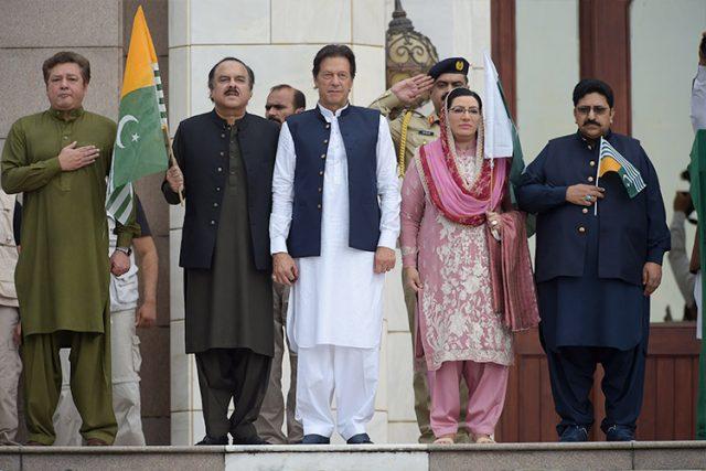 imran khan in kashmir hour