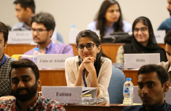Student in lums