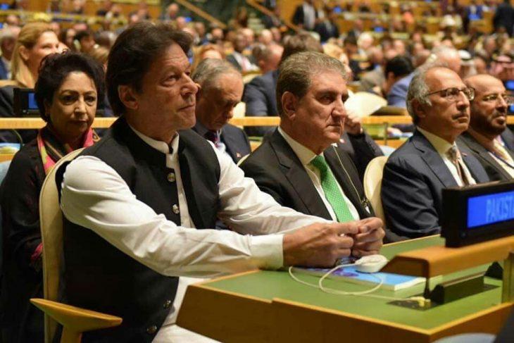 imran khan in us in kashmir issue