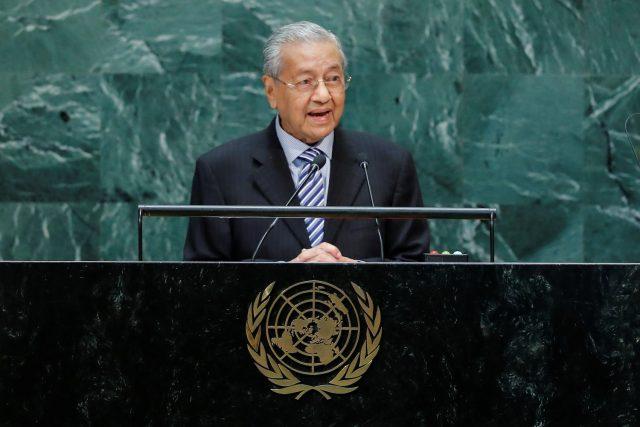 Malaysian Prime Minister Mahathir