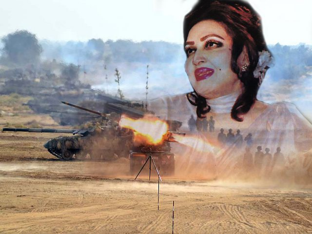 Noor-Jahan in pakistan india war