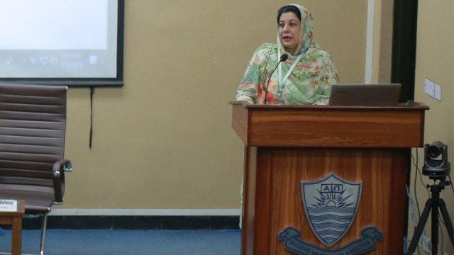 Dr Samina Mehnaz, Pakistan's first Humboldt Ambassador