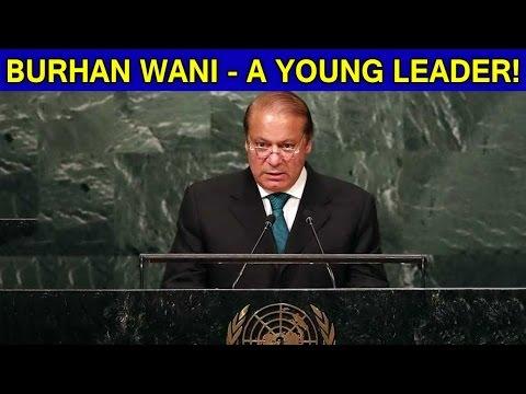 Nawaz Sharif Calls Hizbul Terrorist Burhan Wani As 'Young Leader'