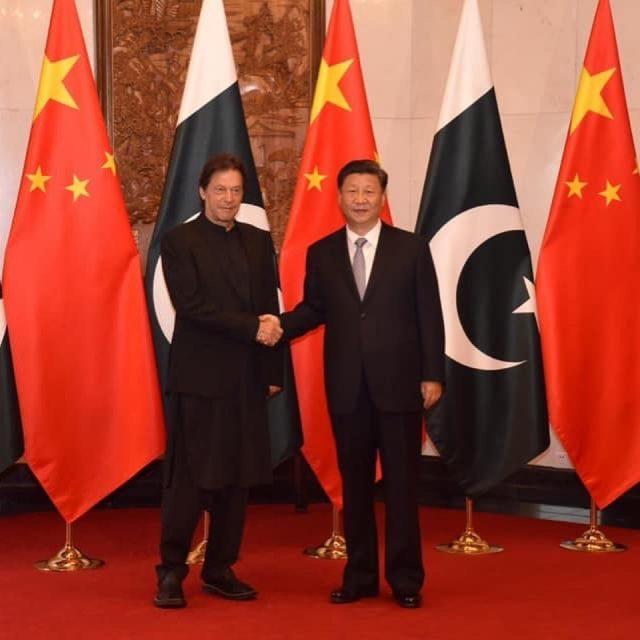 Prime Minister Imran Khan meets President Xi Jinping in Beijing