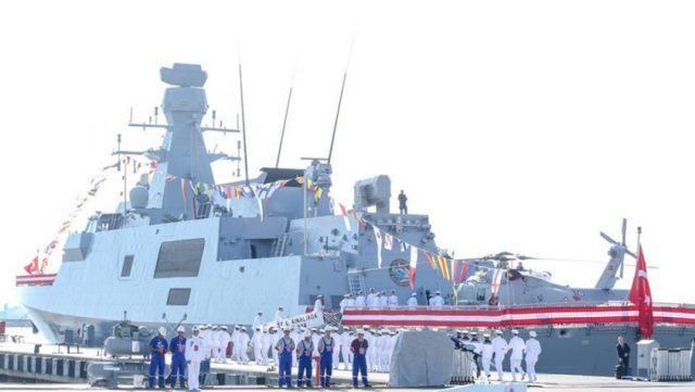 Turkey building naval warship for Pakistan