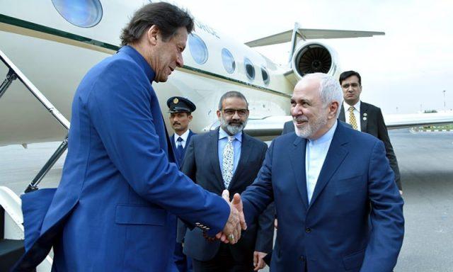 imran khan Arrival in Tehran