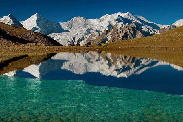 دریاچه راش در دره ناگار، گیلگیت-بلتستان