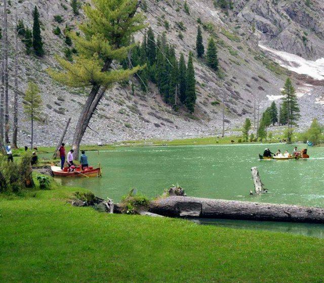 دریاچه ماهودند در دره کلام، خیبر پختونخوا