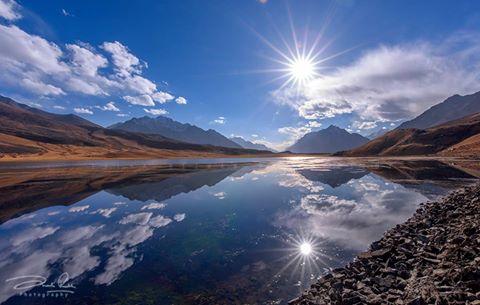 دریاچه شاندور در منطقه چترال، خیبر پختونخوا