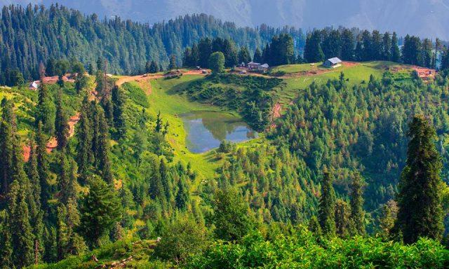 دریاچه سیری در دره کاگان، خیبر پختونخوا