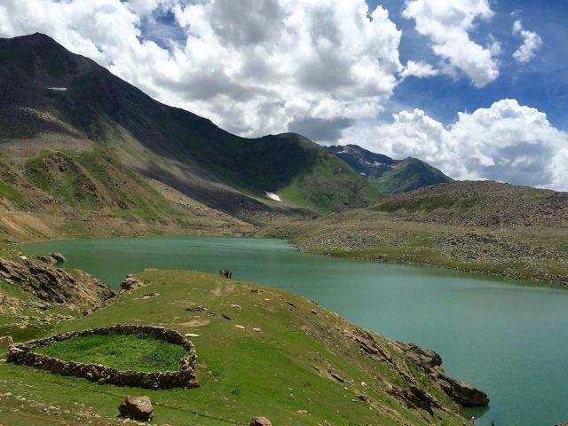 دریاچه لولوسار در دره ناران، خیبر پختونخوا