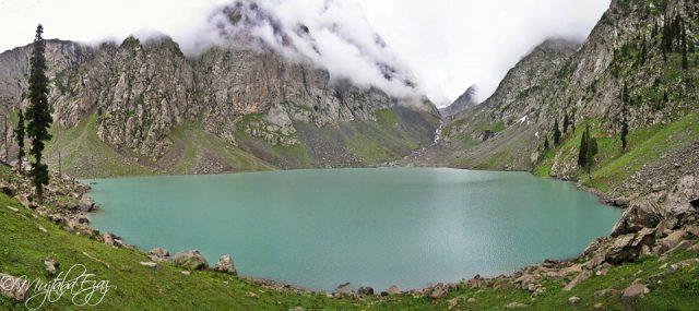 دریاچه اسپین خوار در دره سوات، خیبر پختونخوا