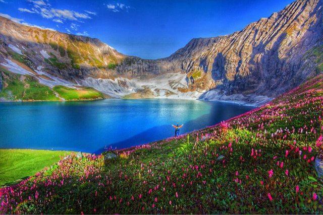 دریاچه راتی گالی در دره نیلم، آزاد کشمیر