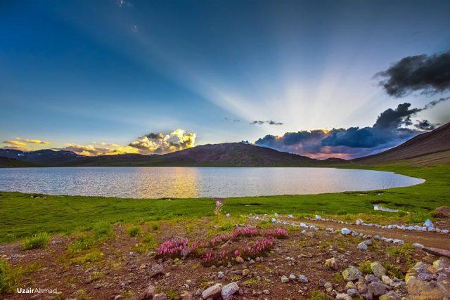 دریاچه شوسار در دشت های دئوزایی، گیلگیت بلتستان