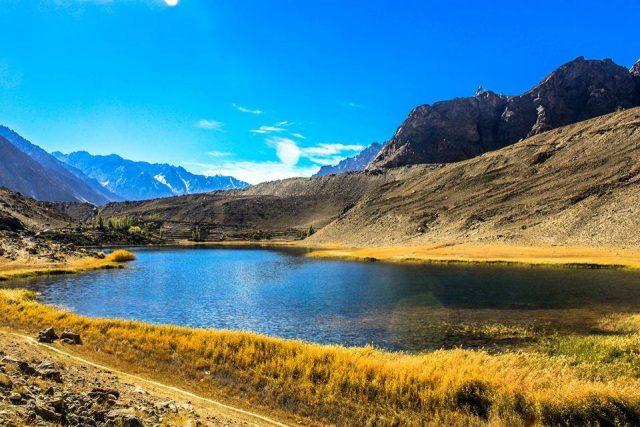 دریاچه بوریت منطقه هونزا گیلگیت-بلتستان