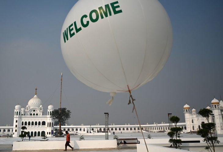 Pakistan readies Gurdwara Darbar Sahib for Sikh pilgrims