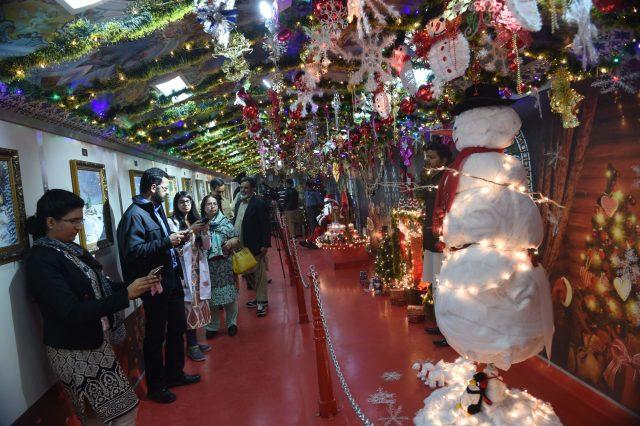 کرسمس در لاهور پاکستان 2