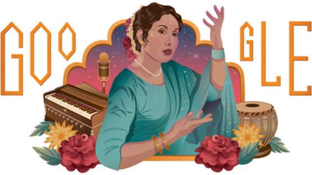 Google Doodle Paying Tribute To Pakistani Singer Iqbal Bano