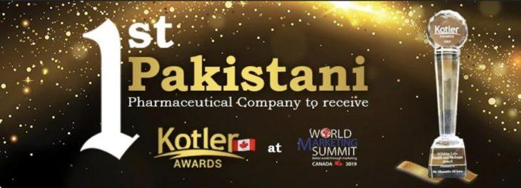 First Pakistani pharma company wins International Kotler Award