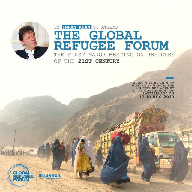 PM Imran attends Global Refugee Forum