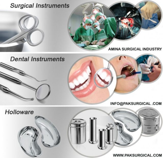 Medical instruments Surgical by Pak Surgical , Made in Pakistan