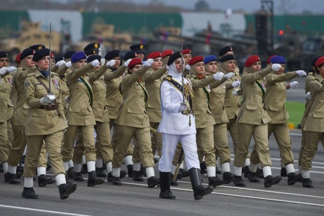 Pakistani woman military power
