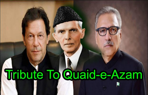 President, PM pay tribute to founder of Pakistan