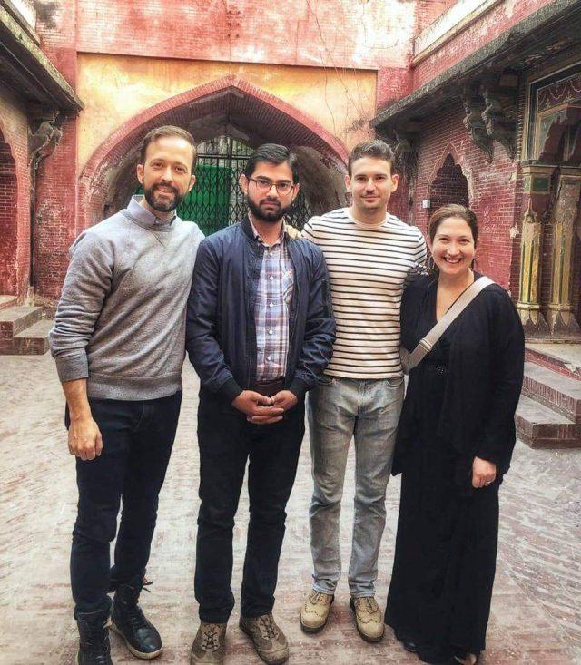 Randi Zuckerberg (sister of Mark Zuckerberg) attended the 3 day tour to Lahore Expo