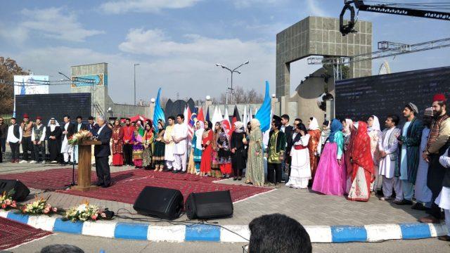 جشنواره فرهنگ ملل دانشگاه فردوسی مشهد