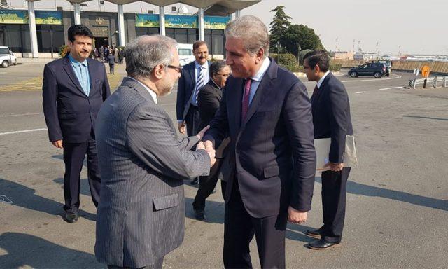 Qureshi relays message of 'restraint' to Tehran and Riyadh