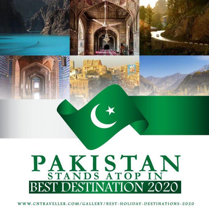 US travel magazine lists Pakistan as top tourist destination