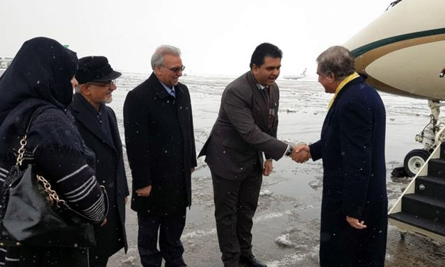 Following escalating US-Iran tensions, FM Qureshi arrives in Iran