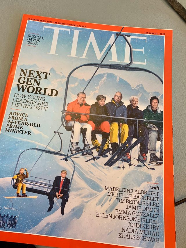 Imran Khan featured on Time magazine cover