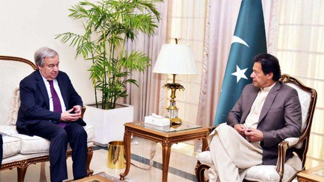 UN-Secretary-General-Antonio-Guterres-meets-PM-Imran.