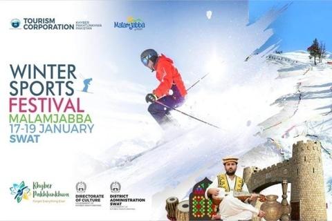 Snowboarding Championship opens in Malam Jabba
