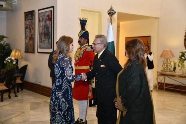 Beatrice is in Pakistan and met the president Dr Arif Alvi