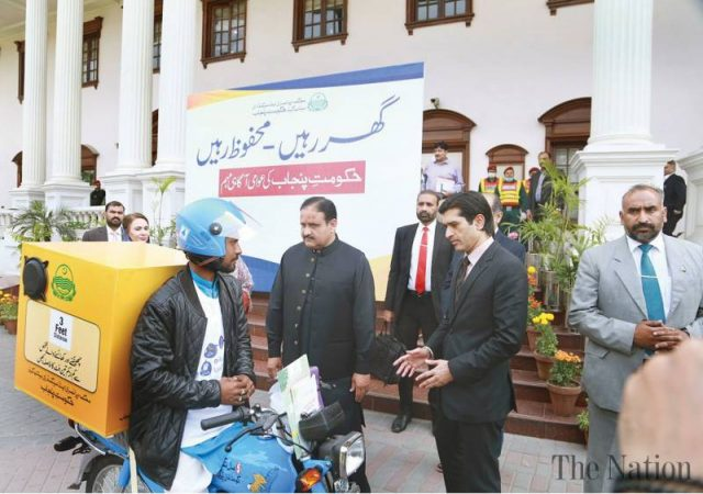 CM launches mobile awareness campaign for safety from coronavirus