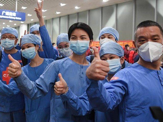 Chinese medical team arrives in Pakistan to treat corona virus