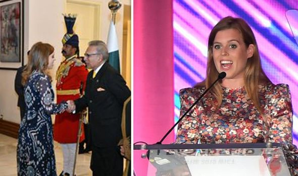 Princess Beatrice leads 'high level delegation' to Pakistan 2