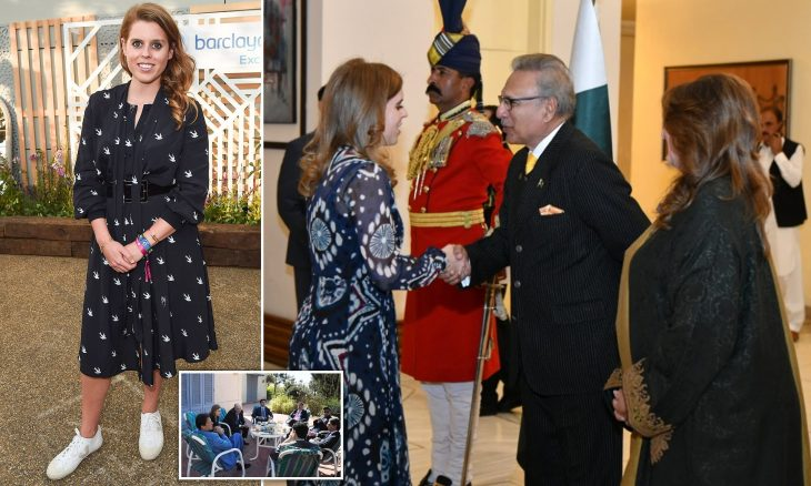 Princess Beatrice leads 'high level delegation' to Pakistan