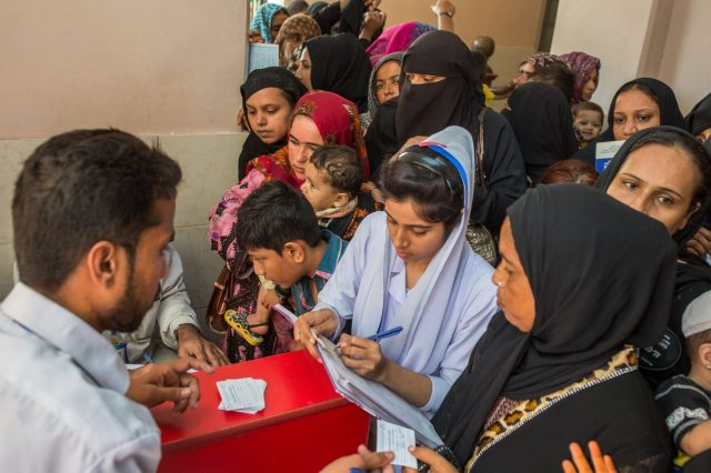 new vaccine to combat XDR typhoid in Pakistan