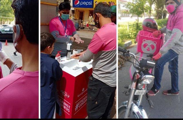 foodpanda Pakistan Financially Helps their Heroes During Lockdown