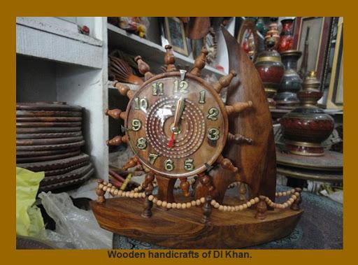 Dera Ismail Khan Photos – Wooden handicrafts of DI Khan