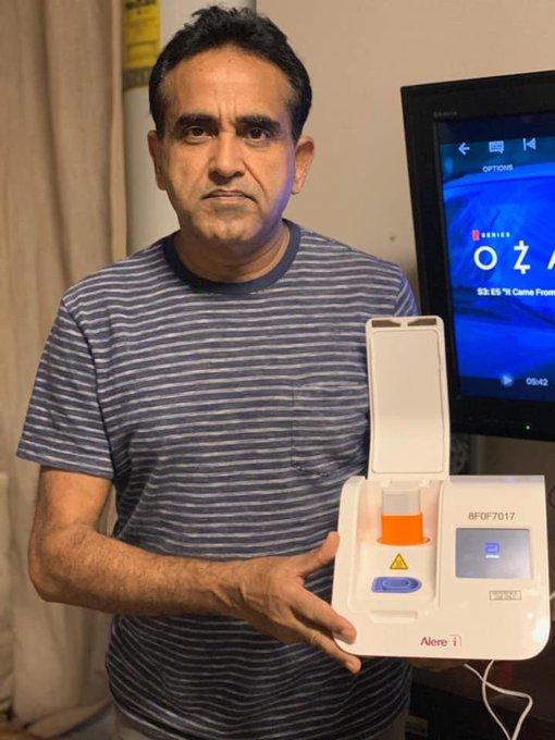 The 5-Minute Coronavirus Testing Kit was Developed by a Man from Larkana