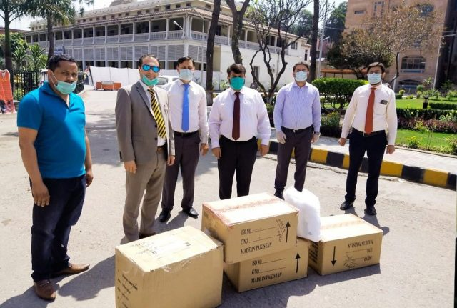 Getz Pharma is the first company that has started distributing free Personal Protective Equipment (PPEs) to hospitals & Health Care