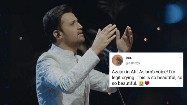 Atif Aslam gives Azaan