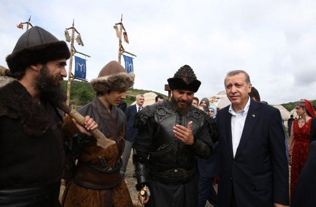 ErtuGrul is a gift to Pakistan from Erdoğan